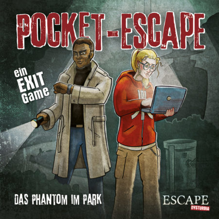 Cover von Pocket-Escape: Das Phantom im Park