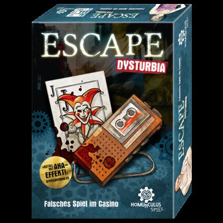 Cover: ESCAPE Dysturbia: Falsches Spiel im Casino
