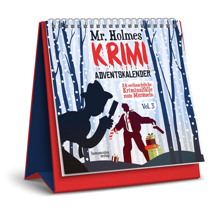 Cover: Mr. Holmes' Krimi-Adventskalender Vol. 3